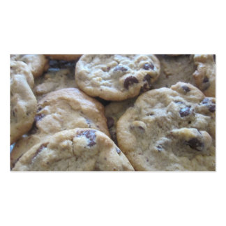 Chocolate Chip Cookies Business Card Template
