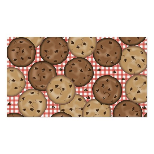 Chocolate Chip Cookies Business Card Templates