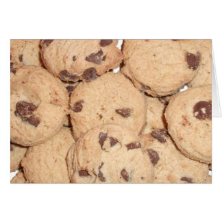 Chocolate Chip Cookies Greeting Cards