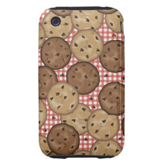 Chocolate Chip Cookies Tough iPhone 3 Cases