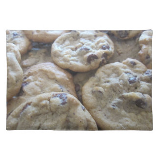 Chocolate Chip Cookies Cloth Placemat