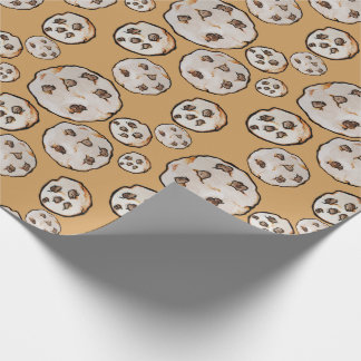Chocolate Chip Cookies Cookie lover Wrapping Paper