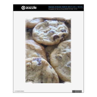 Chocolate Chip Cookies Decal For The NOOK
