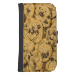 Chocolate Chip Cookies, Dessert, Snack Galaxy S4 Wallets