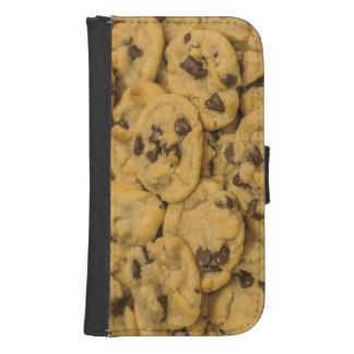 Chocolate Chip Cookies, Dessert, Snack Samsung S4 Wallet Case