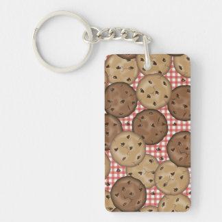 Chocolate Chip Cookies Double-Sided Rectangular Acrylic Keychain