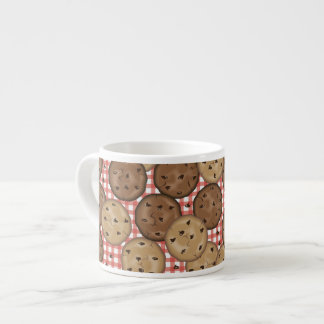 Chocolate Chip Cookies Espresso Cup