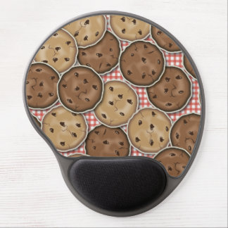 Chocolate Chip Cookies Gel Mouse Pad
