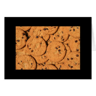 Chocolate Chip Cookies Greeting Card and Note Card