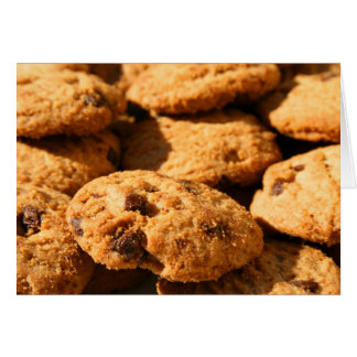 Chocolate Chip Cookies Greeting Card,Note Card