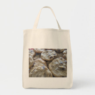 Chocolate Chip Cookies Grocery Tote Bag