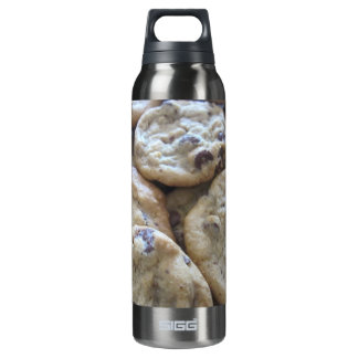 Chocolate Chip Cookies Insulated Water Bottle
