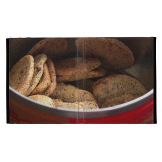 Chocolate chip cookies iPad 3 folio case iPad Cases