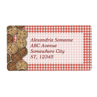 Chocolate Chip Cookies Labels