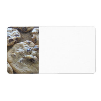 Chocolate Chip Cookies Label