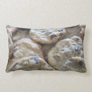 Chocolate Chip Cookies Lumbar Pillow