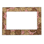 Chocolate Chip Cookies Magnetic Picture Frame