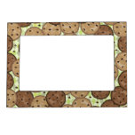 Chocolate Chip Cookies Magnetic Picture Frames