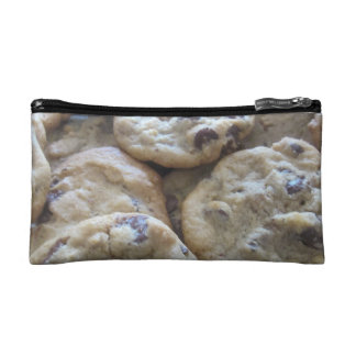 Chocolate Chip Cookies Makeup Bags