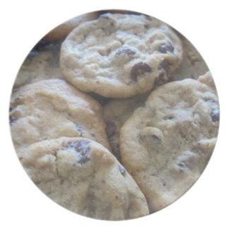 Chocolate Chip Cookies Melamine Plate