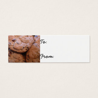 Chocolate Chip Cookies Mini Business Card