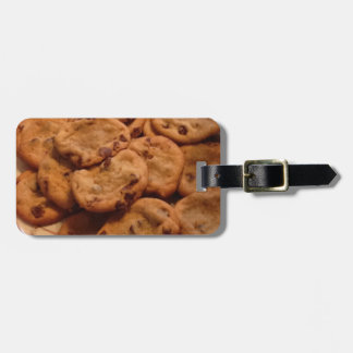 Chocolate Chip Cookies Photo Luggage Tag