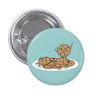 Chocolate Chip Cookies Pinback Button