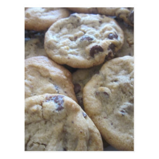 Chocolate Chip Cookies Post Card