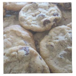 Chocolate Chip Cookies Printed Napkin