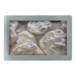 Chocolate Chip Cookies Rectangular Belt Buckle