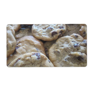 Chocolate Chip Cookies Shipping Labels