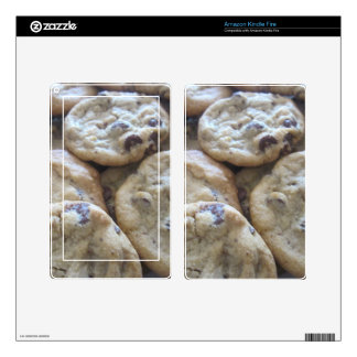 Chocolate Chip Cookies Skin For Kindle Fire