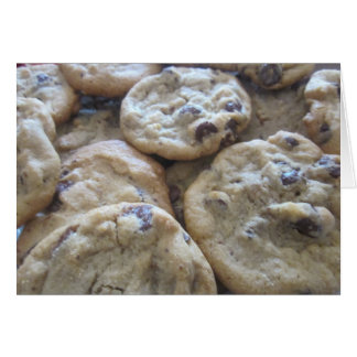 Chocolate Chip Cookies Stationery Note Card