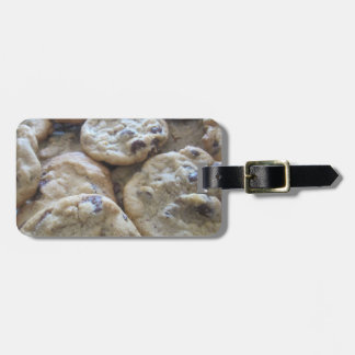 Chocolate Chip Cookies Travel Bag Tags