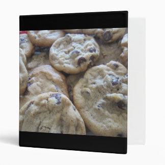 Chocolate Chip Cookies Vinyl Binder