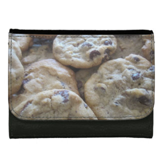 Chocolate Chip Cookies Wallet For Women