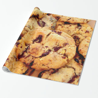 Chocolate Chip Cookies Gift Wrap Paper