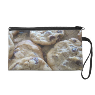 Chocolate Chip Cookies Wristlet Clutches