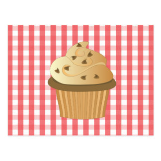 Chocolate Chip Cupcake Post Cards