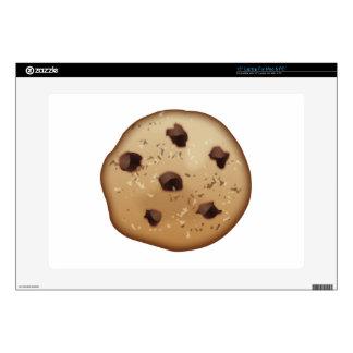 """Chocolate Chip - Emoji 15"""" Laptop Skin"""