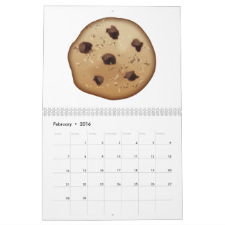 Chocolate Chip - Emoji Calendar