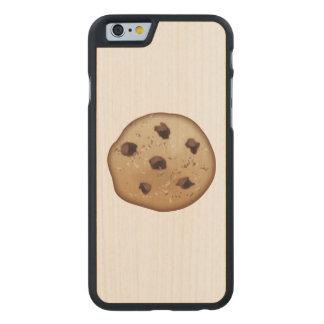 Chocolate Chip - Emoji Carved Maple iPhone 6 Slim Case