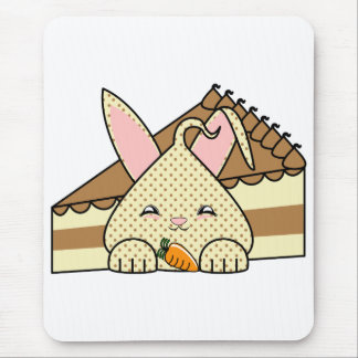 Chocolate Chip Hopdrop And Cake Mouse Pad