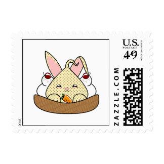 Chocolate Chip Hopdrop Waffle Sundae Postage Stamps