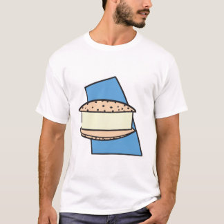 chocolate chip ice cream sandwich cookie T-Shirt