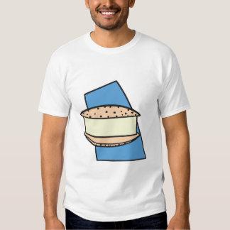 chocolate chip ice cream sandwich cookie t shirts