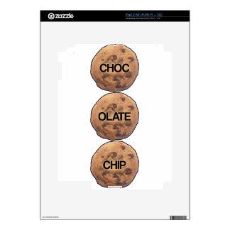 Chocolate Chip iPad 2 Decal
