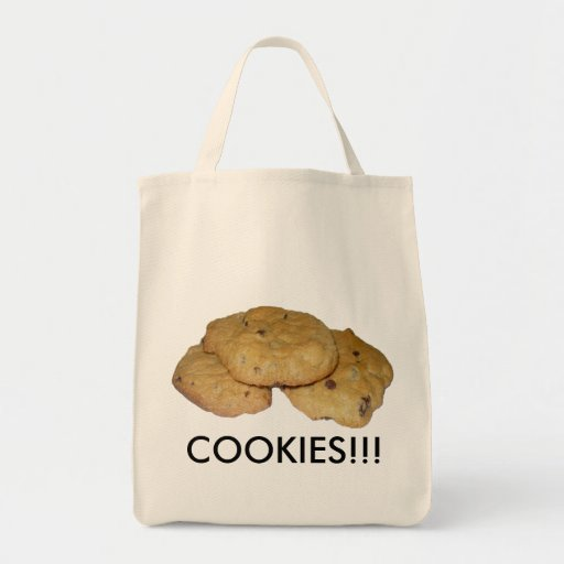 Chocolate Chip Oatmeal Cookies Canvas Bags