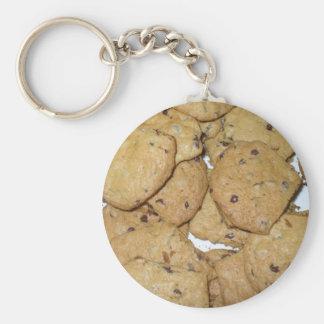 Chocolate Chip Oatmeal Cookies Keychain