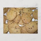 Chocolate Chip Oatmeal Cookies postcard